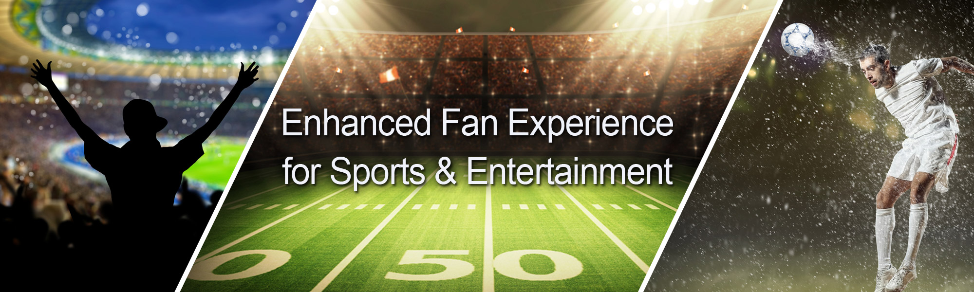 Enhanced Fan Experience for Sports and Entertainment
